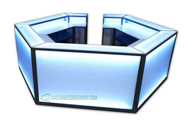 Hexagon Portable Bar