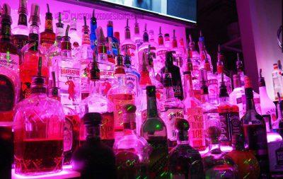 LED Lighted Bottles