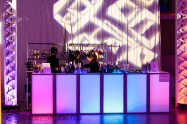 Element LED Lighted Event Bar