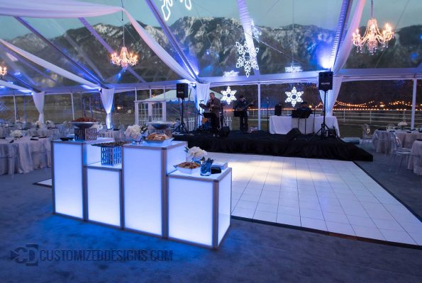 LED Illuminated Event Furniture