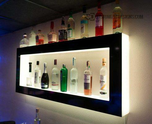 Wall Display w/ Warm White Lights