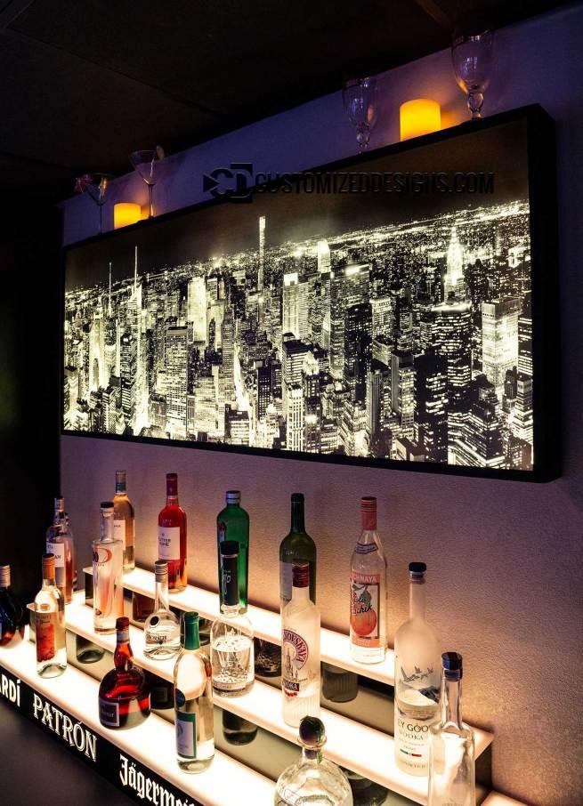 New York City Skyline Cityscape LED Lighting