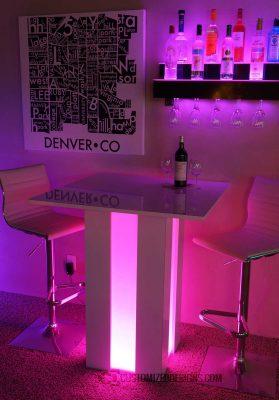 Mirage Illuminated Lounge Table