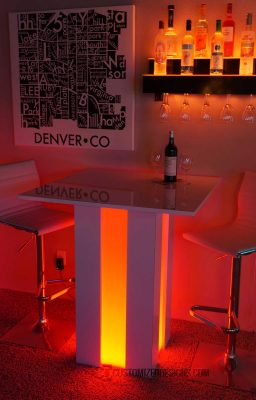 Mirage LED Cocktail Table