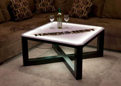 Carbon Series Modern LED Coffee Table
