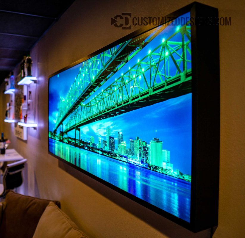 New Orleans LED Lighted Wall Art