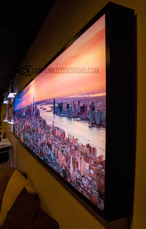 New York City Panoramic Wall Art