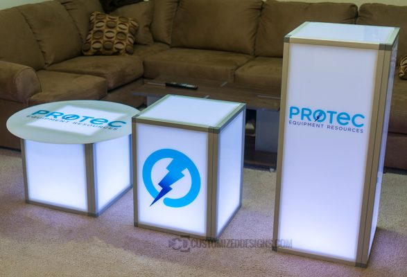 Modular Promotional Tables
