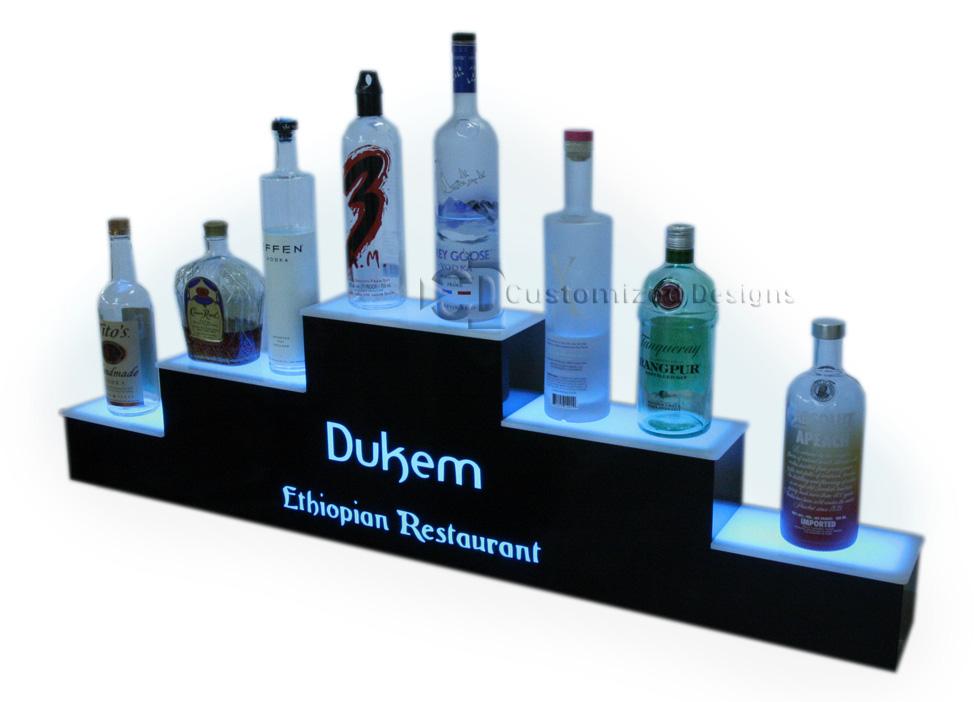 3 Tier Pyramid Style Display