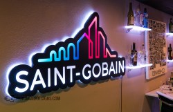 LED Lighted Backlit Sign