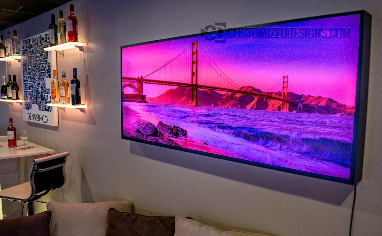 Golden Gate Bridge Framed Picture