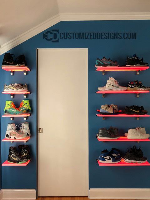 Shoe Display Shelves 2