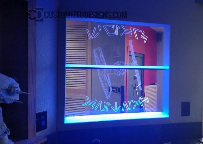 Star Wars LED Edge Lit Sign