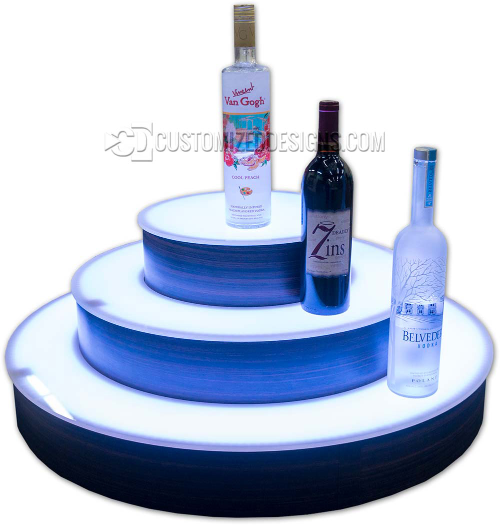 "3 Tier 30"" Circular Round Style Display"