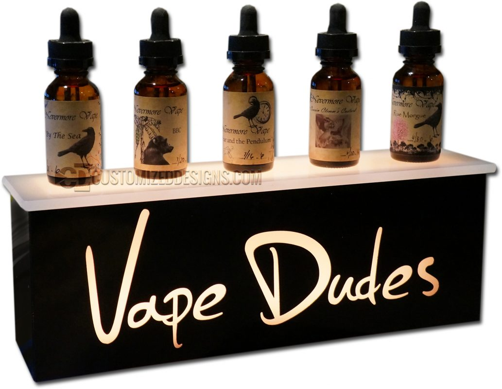 Vape Dudes E-Liquid Display
